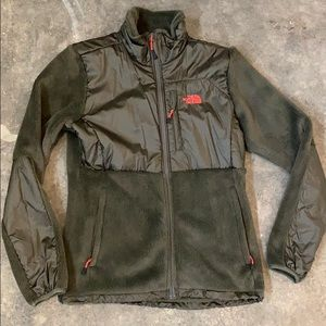 The North Face polartec coat